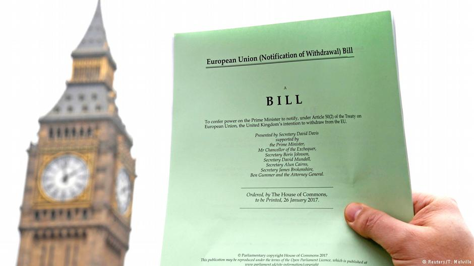 European Union (Withdrawal) Bill – Briefing Paper
