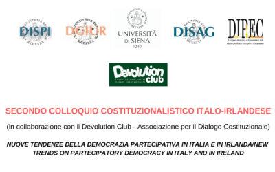 Secondo colloquio costituzionalistico italo-irlandese