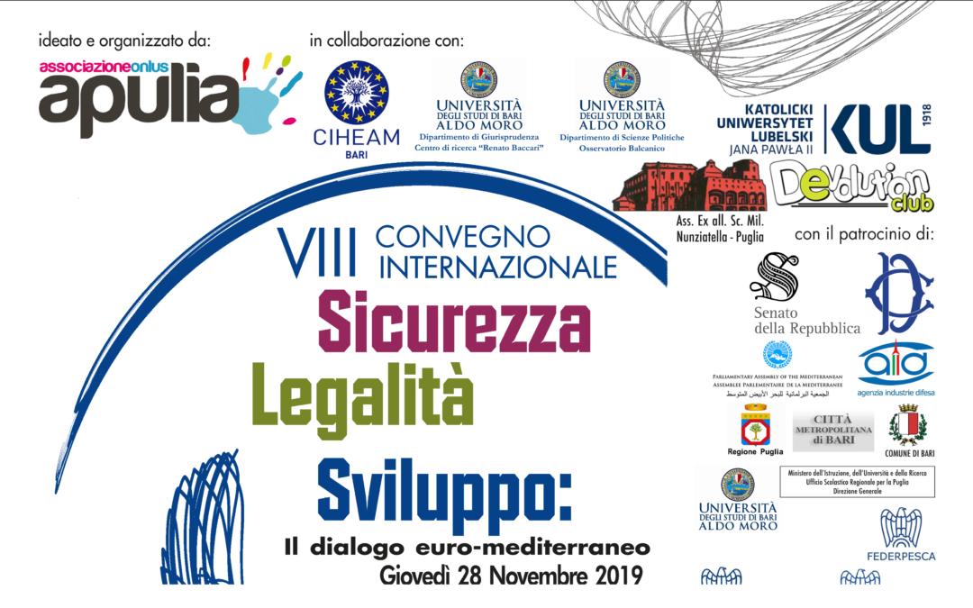 VIII Convegno internazionale – Sicurezza, Legalità, Sviluppo: il dialogo euro-mediterraneo